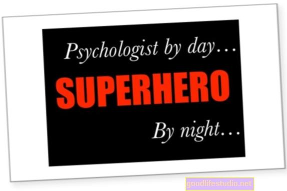 Seorang Ahli Psikologi dan Seorang Superhero