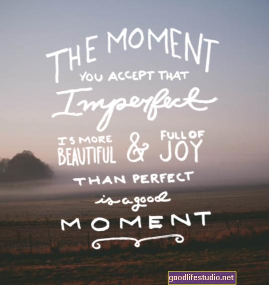 Accettare l'imperfezione