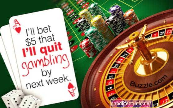 ¿Son los problemas de juego más comunes que los problemas con la bebida? Tal vez no