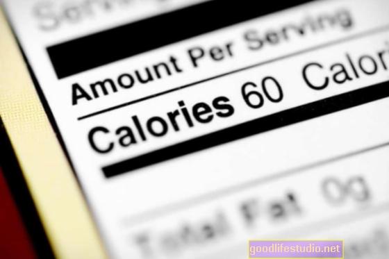 Počítání kalorií u pultu rychlého občerstvení