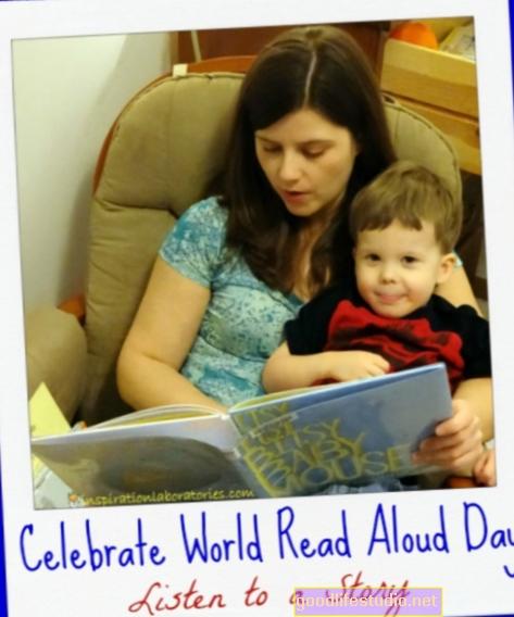 Oslavte 7. března Světový den čtení nahlas
