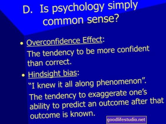 Psihologija zdravog razuma