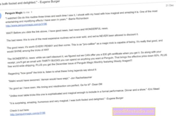 El correo electrónico no es tan efectivo con la depresión universitaria