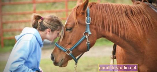 Zirgu terapija: intervija ar Annu Motu