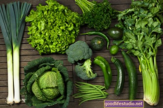 Зелена їжа для вашого психічного здоров'я