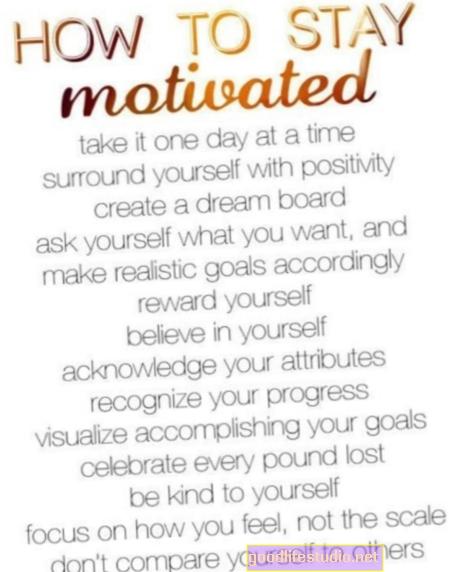 ¿Cómo se mantiene motivado cuando quiere darse por vencido?