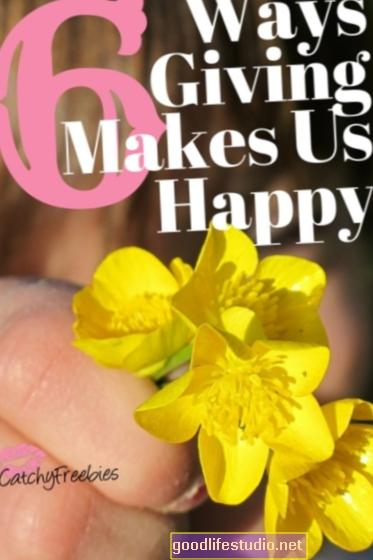Как даването ни прави щастливи