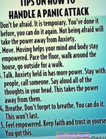 Как да се справим с пристъпите на паника