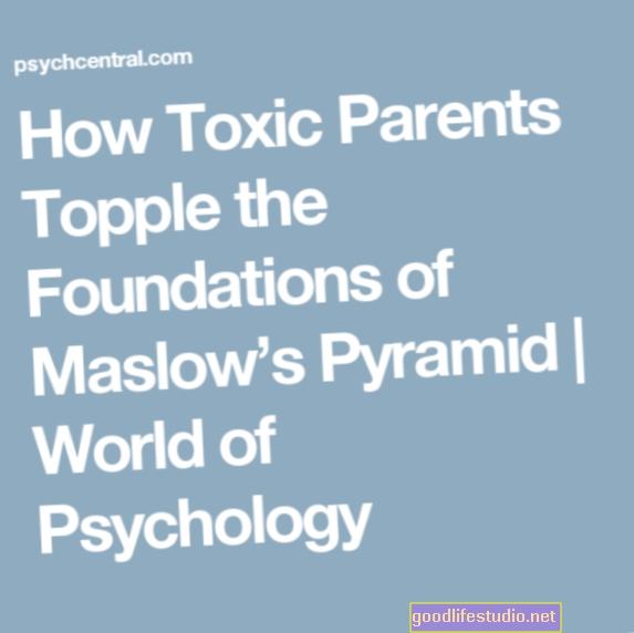 Cómo los padres tóxicos derriban los cimientos de la pirámide de Maslow