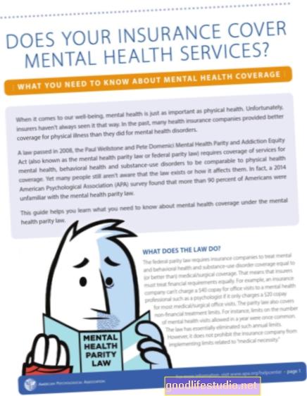 Paritet osiguravajuće pokrivenosti zbog zabrinutosti za mentalno zdravlje postaje sve gori