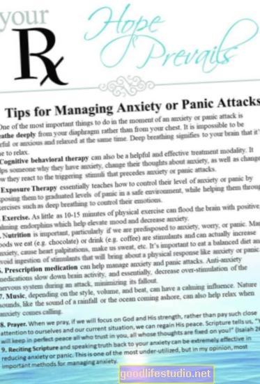 Manejo de los ataques de pánico en el trabajo