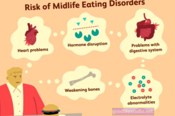 Vidutinio amžiaus valgymo sutrikimai karantine