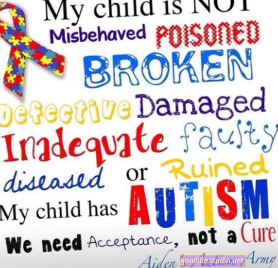 Mano sūnus yra autistas, nėra netinkamas