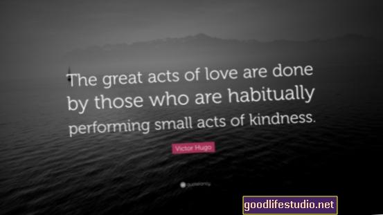 Compiere piccoli atti di gentilezza