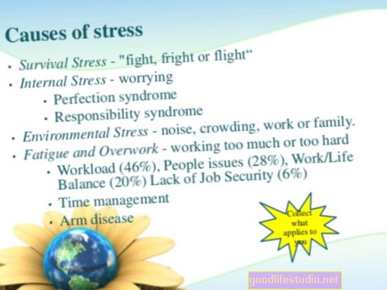 Poniendo el estrés en su lugar en su vida