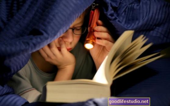 Čitanje previše u studiji depresije
