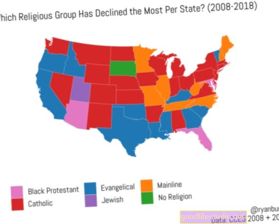 Náboženství v Americe: Dekáda úpadku