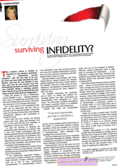 Sobreviviendo a la infidelidad: recupere su confianza y autoestima