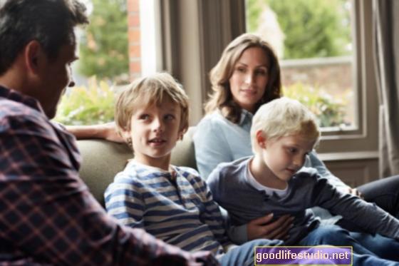 親の性中毒について子供たちと話す