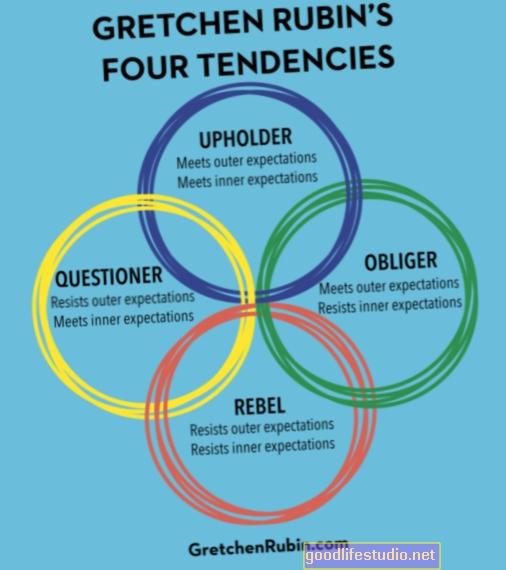 4 Rubīna tendences: aizstāvji, jautātāji, nemiernieki un pienākumu izpildītāji
