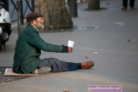 El caballero de la carretera sin hogar