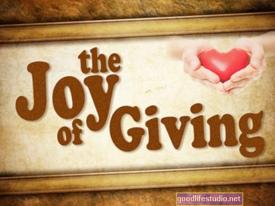 与えることの喜び