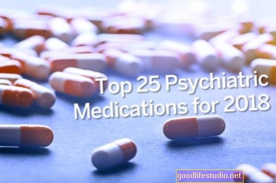 2018年のトップ25の精神薬