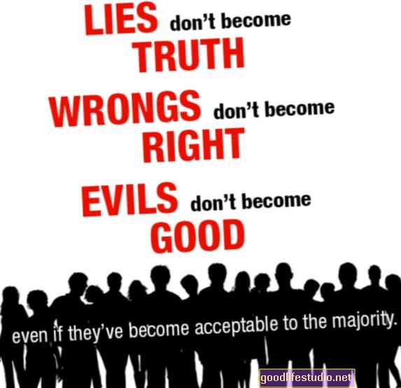 Cuando las mentiras se convierten en verdad